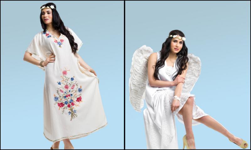 Nakışlı Elbise Modelleri