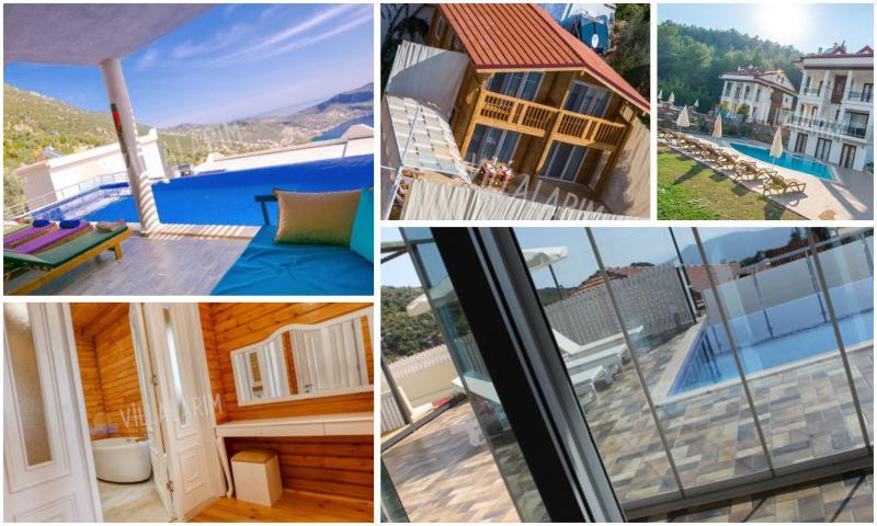 Deniz Manzaralı Kiralık Villalar