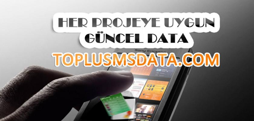 Toplu Sms Datası