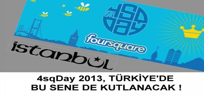 4sqDay 2013 Lokal Asmalı'da Kutlanacak