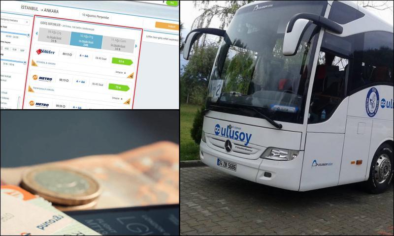 Ucuza Otobüs Bileti Alın
