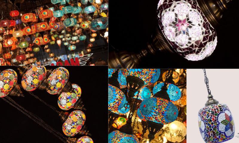 Ayaklı Mozaik Lamba Çeşitleri