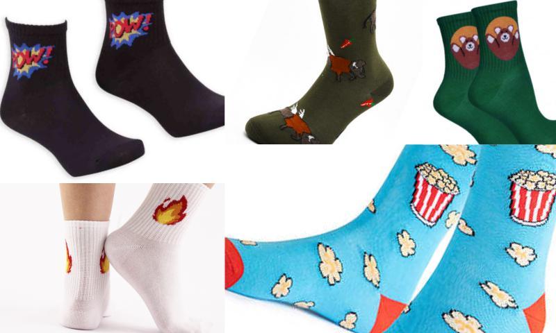 Renkli Soket Çoraplarla Gelen Mutluluk