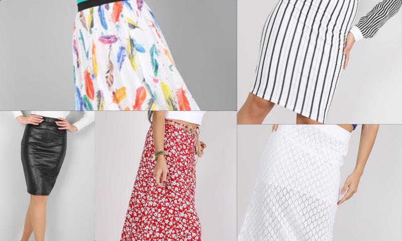 Bayanlar İçin Eteği Volanlı Şık Elbise Modelleri